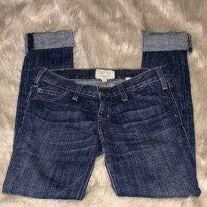 Current Elliot High Low skinny Denim Jeans Size 24